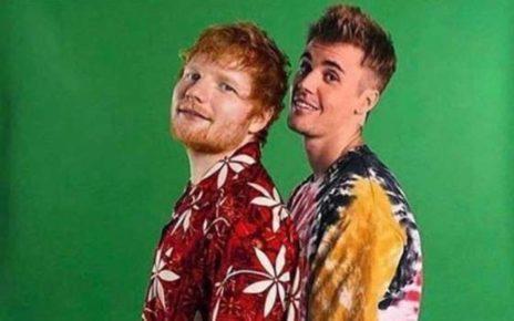 Ed Sheeran dan Justin Bieber