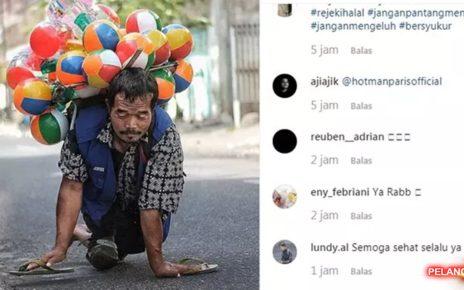 Kisah Pak Setu, Penjual Balon Merangkak