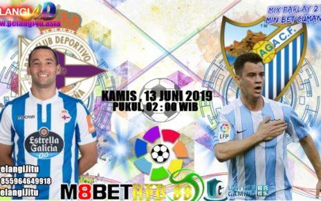 Prediksi Deportivo La Coruna Vs Malaga 11 Juni 2019