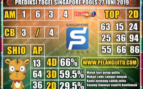 PREDIKSI TOGEL SINGAPORE POOLS