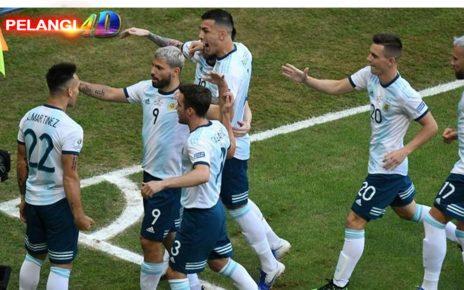 Argentina Lolos ke Perempatfinal