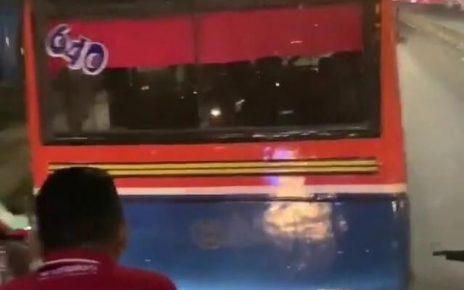 Ramai Video Metromini Hadang Bus TransJakarta