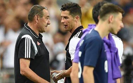 Diganti Maurizio Sarri, Cristiano Ronaldo Kesal dan Ngomel-ngomel