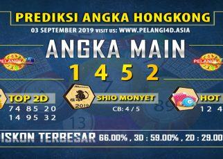 PREDIKSI TOGEL HONGKONG POOLS 03 SEPTEMBER 2019