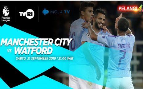 Prediksi Manchester City vs Watford 21 September 2019