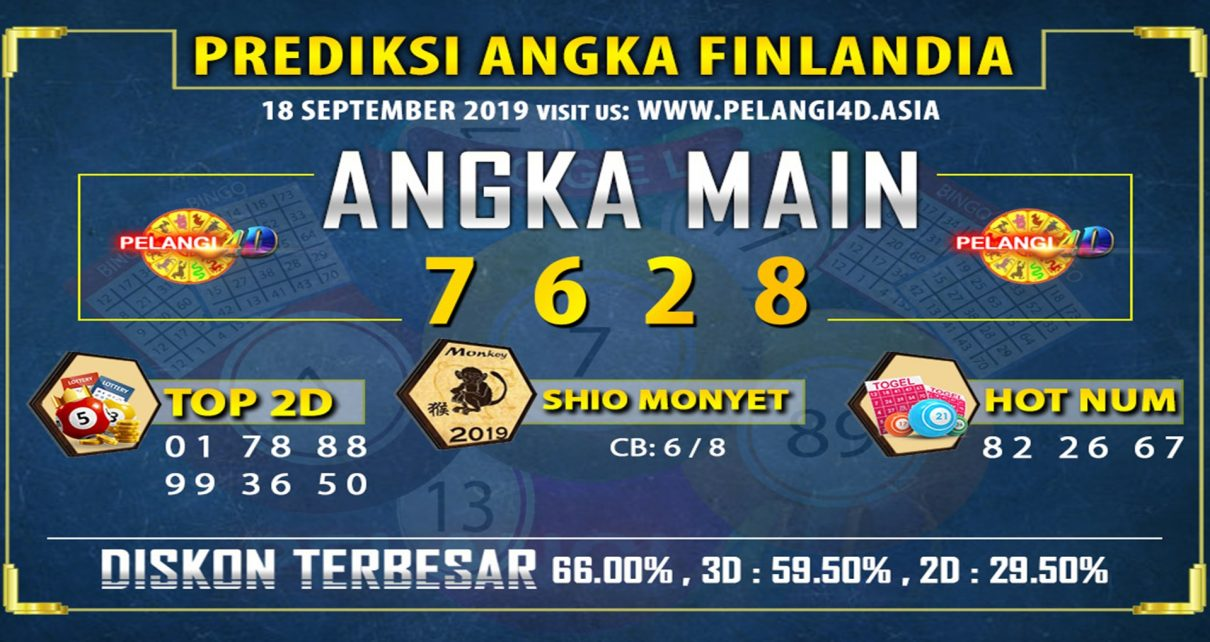 PREDIKSI TOGEL FINLANDIA POOLS 18 SEPTEMBER 2019