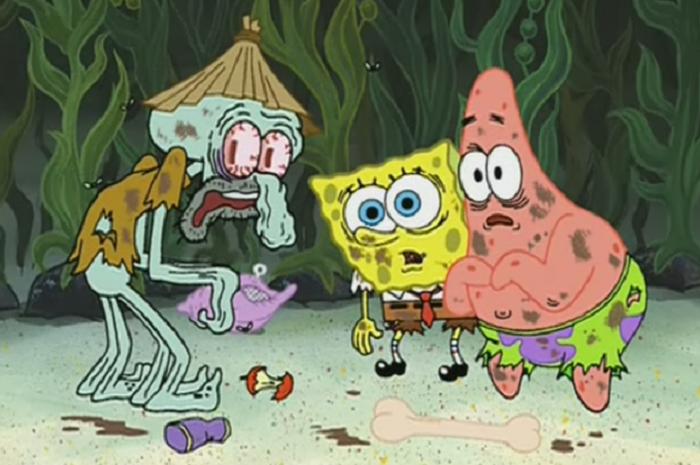 Kartun Spongebob Ditegur KPI: Celana Squidward hingga Pintu Rumah Patrick, Inilah 5 Misteri Kartun Spongebob yang Tak Anda Sadari