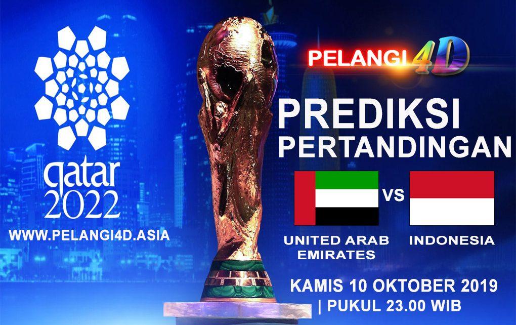 Prediksi Pertandingan UAE Vs Indonesia 10 Oktober 2019