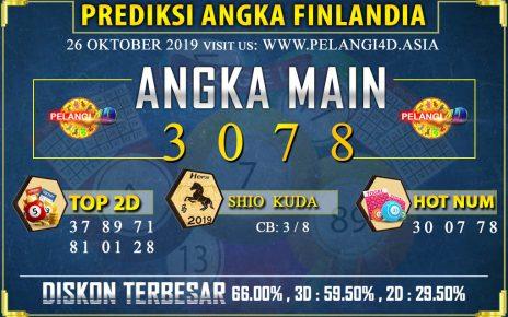 PREDIKSI TOGEL FINLANDIA POOLS 26 OKTOBER 2019