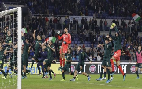 Italia Lolos ke Putaran Final Euro 2020