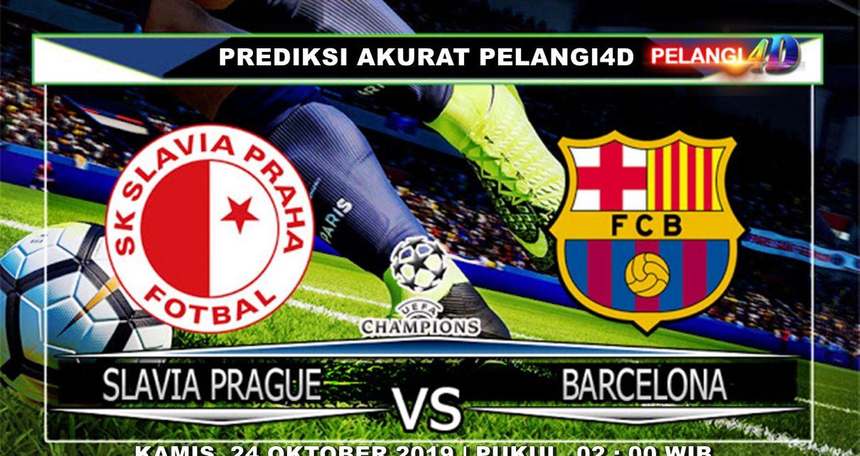 PREDIKSI SLAVIA PRAGUE VS BARCELONA 24 OKTOBER 2019