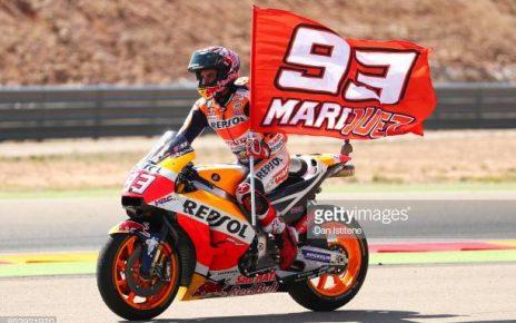 Marquez Kurang Puas dengan Performa di Hari Pertama MotoGP Jepang 2019