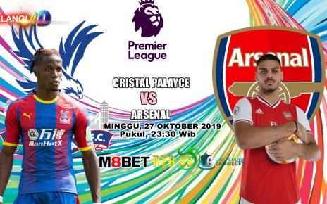 Prediksi Arsenal vs Crystal Palace 27 Oktober 2019