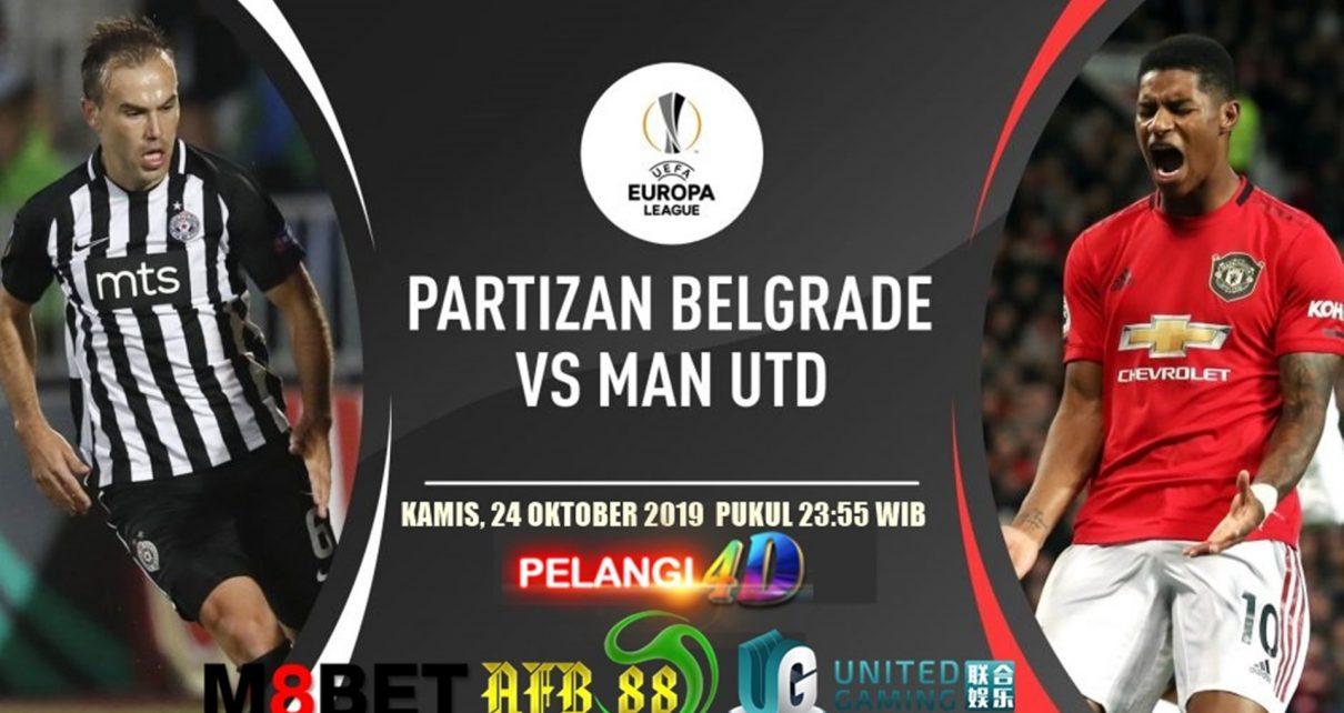Prediksi Partizan Belgrade vs Manchester United 24 Oktober 2019