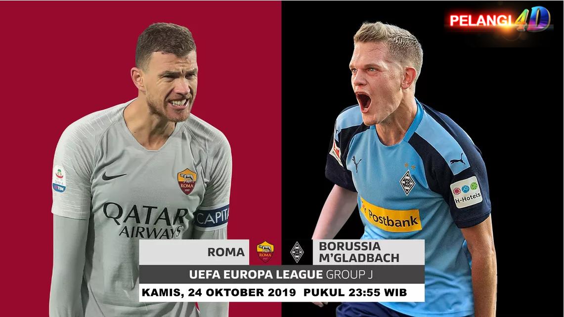 Prediksi Bola AS Roma vs Borussia Monchengladbach 24 Oktober 2019