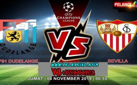 Prediksi F91 Dudelange Vs Sevilla 08 November 2019   Liga Champions UEFA