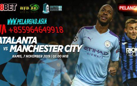 Prediksi Atalanta vs Manchester City 7 November 2019