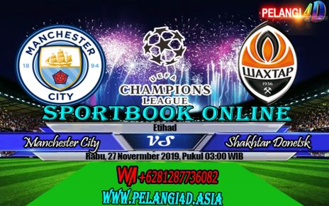 Prediksi Bola Manchester City vs Shakhtar Donetsk 27 November 2019