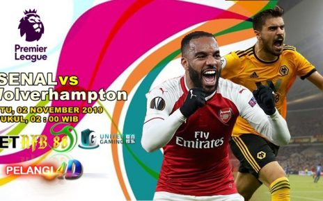 Prediksi Arsenal Vs Wolverhampton Wanderers 02 November 2019