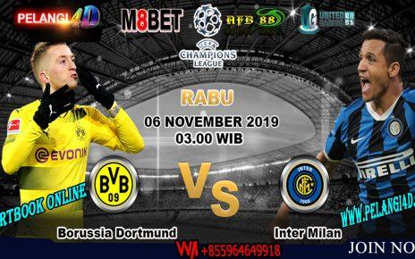 Prediksi Liga Champions Borussia Dortmund vs Inter Milan