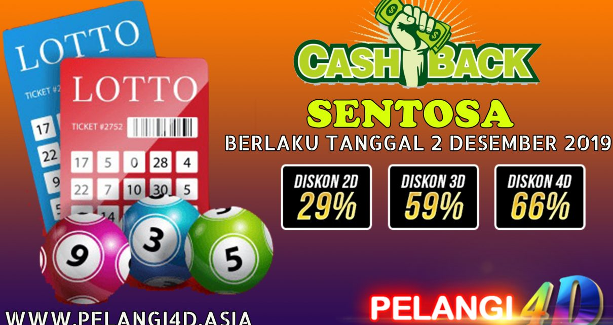 EVENT : PROMO CASHBACK TOGEL SENTOSA POOLS
