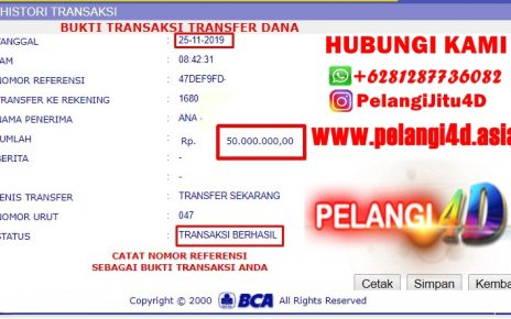 Bukti Jacpot SPORTBOOK Member Pelangi4d 50.000.000 Kami Bayar Lunas...!!!