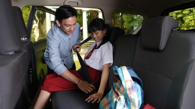 Suzuki Ertiga Terbukti Aman untuk Anak