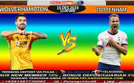 Prediksi Wolverhamton vs Tottenham 15 Desember 2019