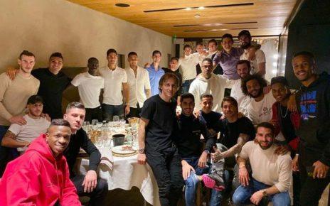 Tepis Isu Hengkang, Bale Hadiri Diner Skuad Madrid