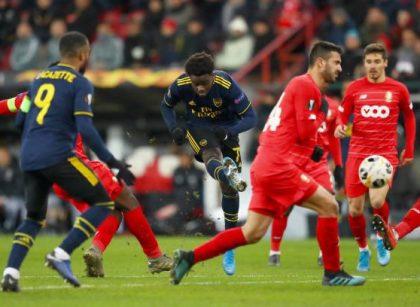 Imbangi Standard Liege 2-2, Arsenal Lolos sebagai Juara Grup F Liga Eropa 2019-2020