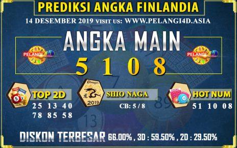 PREDIKSI TOGEL FINLANDIA POOLS 14 DESEMBER 2019