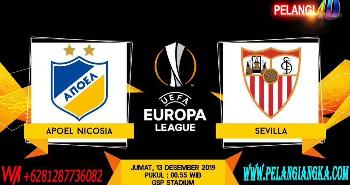 Prediksi APOEL Nicosia vs Sevilla 13 Desember 2019