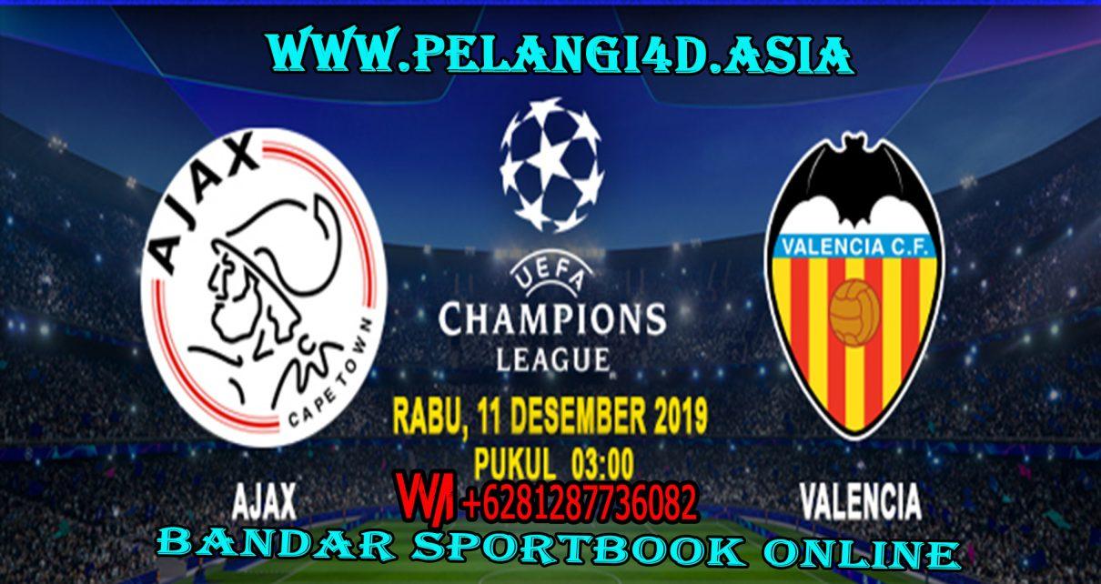 Prediksi Ajax Vs Valencia 11 Desember 2019 Pukul 03.00 WIB