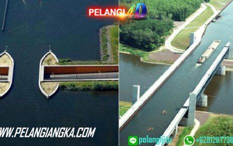 Jembatan Unik Ini Dibuat sebagai Jalan Buat Air