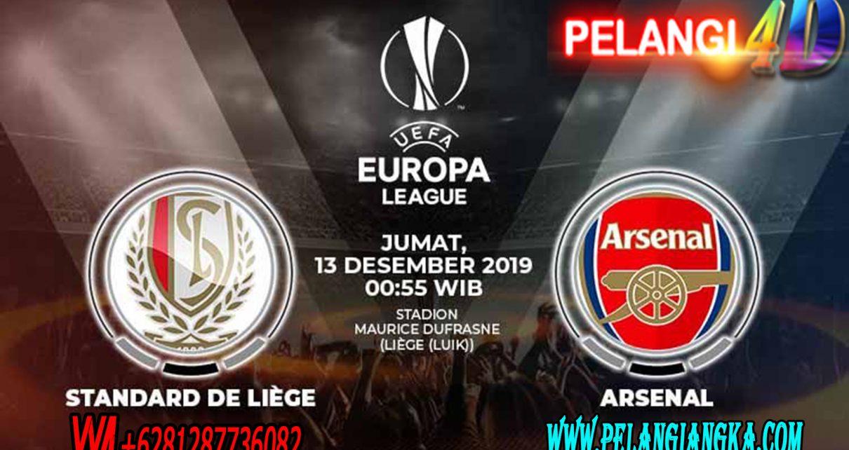 Prediksi Skor Standard Liege vs Arsenal 13 Desember 2019