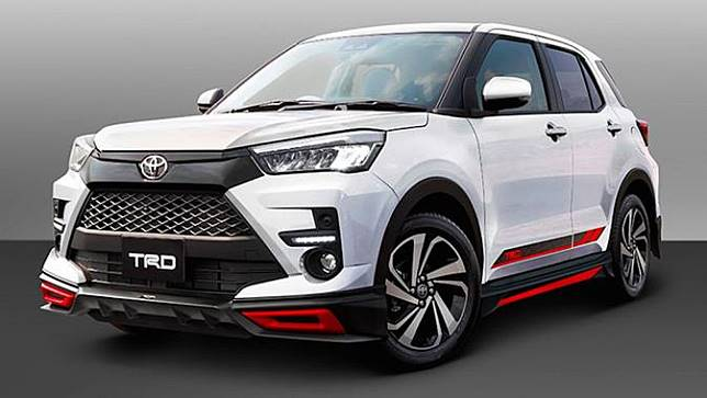 Toyota Raize Sudah Resmi Meluncur Masuk Indonesia
