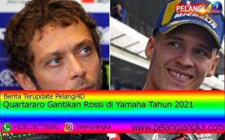 Quartararo Gantikan Rossi di Yamaha Tahun 2021