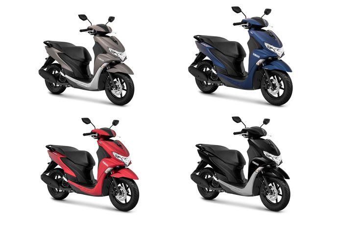 Yamaha FreeGo Punya Pilihan Warna Baru