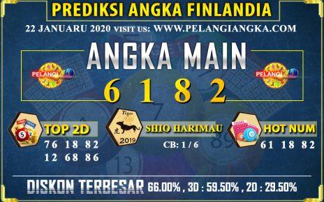 PREDIKSI TOGEL FINLANDIA POOLS 22 JANUARI 2020