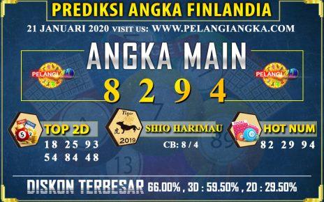 PREDIKSI TOGEL FINLANDIA POOLS 21 JANUARI 2020
