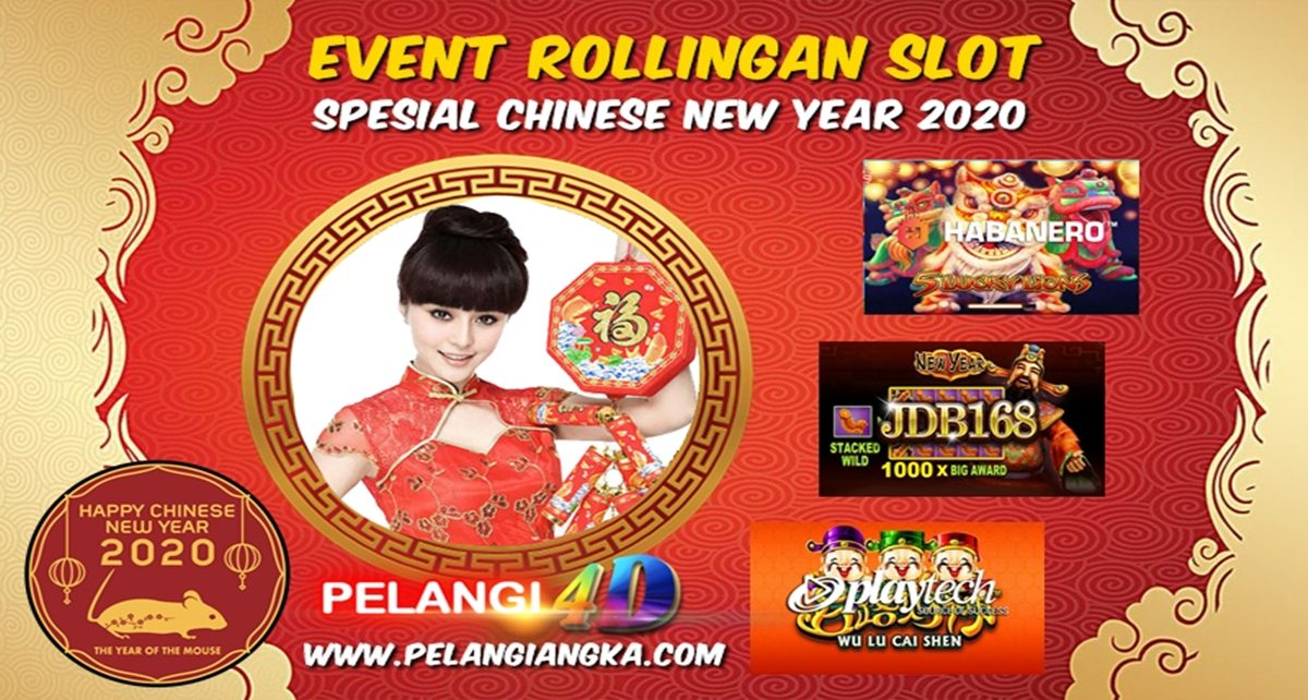Spesial Chinese New Year 2020 Event Rollingan Slot Game