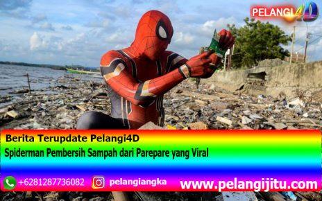 Spiderman Pembersih Sampah dari Parepare yang Viral