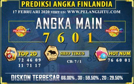 PREDIKSI TOGEL FINLANDIA POOLS 17 FEBRUARI 2020