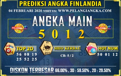 PREDIKSI TOGEL FINLANDIA POOLS 04 FEBRUARI 2020