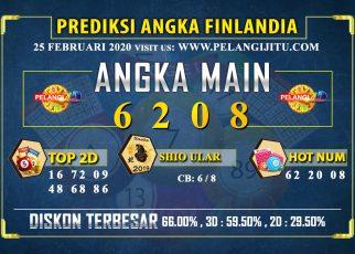 PREDIKSI TOGEL FINLANDIA POOLS 25 FEBRUARI 2020