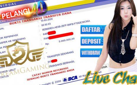 Jackpot Member Pelangi4D Di CASINO, DREAM GAMING 5.000.000
