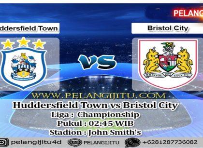 Prediksi Skor Huddersfield Town vs Bristol City 26 Februari 2020