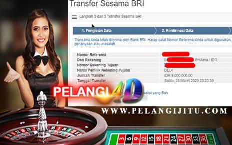 JACKPOT Oriental Gaming DI Pelangi4D