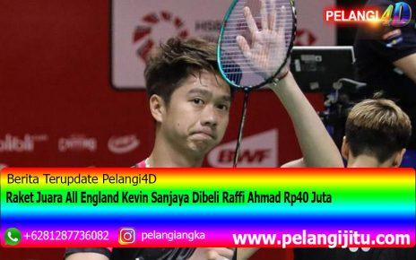 Raket Juara All England Kevin Sanjaya Dibeli Raffi Ahmad Rp40 Juta