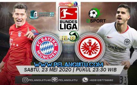 Bayern Munchen vs Frankfurt : Misi Tuntaskan Malu Pada Pertemuan Pertama